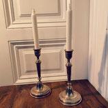 True vintage Kerzenständer Silber