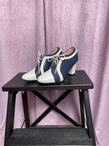 Vintageinspired Schuhe - navy