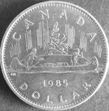 カナダ記念貨 西暦1985年