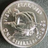ニュージーランド銀貨 西暦1943