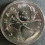 カナダ銀貨 西暦1974年