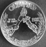 第29回オリンピック記念1ドル銀貨