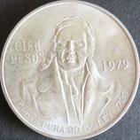 メキシコ銀貨 西暦1979年