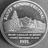 カナダ記念銀貨 西暦1975年