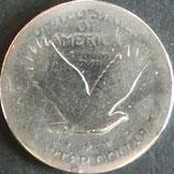 スタンディング・リバティ1/4ドル銀貨 西暦1918年