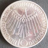 ドイツ記念銀貨 西暦1972年