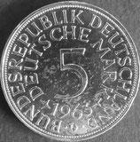ドイツ記念銀貨 西暦1963年