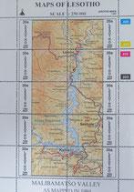 市内地図 レソト