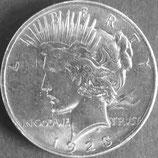 ピース1ドル銀貨    西暦1923年