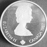 カナダ記念銀貨 西暦1987年
