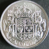 カナダ銀貨 西暦1941年