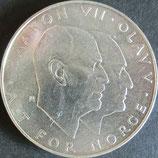 ノルウェー銀貨 西暦1945年
