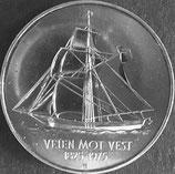 ノルウェー 記念銀貨 西暦1975年