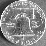 フランクリン銀貨 西暦1963年