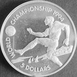 バハマ国プルーフ銀貨 西暦1993年