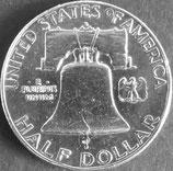 フランクリン銀貨 西暦1960年