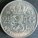 オランダ銀貨 西暦1963年