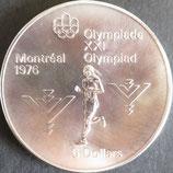 カナダ記念銀貨 西暦1976年
