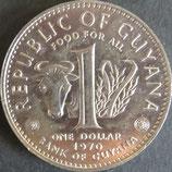 ガイアナ共和国 西暦1970年