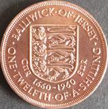 イギリス記念貨 西暦1960年