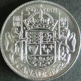 カナダ銀貨 西暦1942年