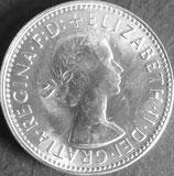 オーストラリア銀貨 西暦1961年