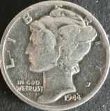マーキュリー銀貨 西暦1944年