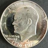 アイゼンハワープルーフ銀貨 西暦1976年