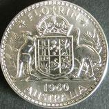 オーストラリア銀貨 西暦1960年