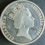 オーストラリアプルーフ銀貨 西暦1988年