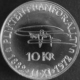 スウェーデン銀貨 西暦1972年