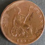 イギリス記念貨 西暦1893年