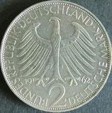 ドイツ銀貨 西暦1962年