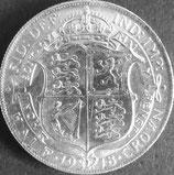 イギリス銀貨 西暦1918年