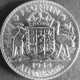 オーストラリア銀貨 西暦1944年Φ28