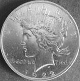 ピース1ドル 西暦1922年