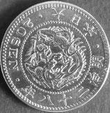竜20銭銀貨   明治28年