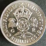 イギリス銀貨 西暦1941年