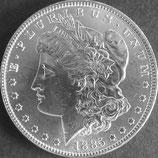 モルガン・ダラー銀貨 西暦1885年