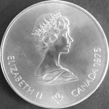 カナダオリンピック記念銀貨 西暦1975年