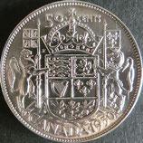 カナダ銀貨 西暦1950年