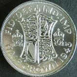 イギリス銀貨 西暦1943年