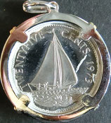 バハマ共和国銀貨 西暦1973年