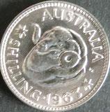 オーストラリア銀貨 西暦1963年