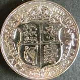 イギリス銀貨 西暦1924年