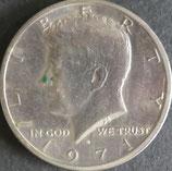 ケネディ1/2ドル   西暦1971年