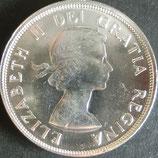 カナダ銀貨 西暦1960年