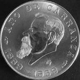 メキシコ記念銀貨 西暦1959年