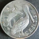 バァージン諸島銀貨 西暦1973年