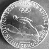 オーストリア銀貨 西暦1964年